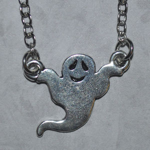 Jewelry - Silver Ghost Necklace